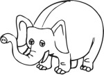 cartoon-coloring-pages-phant