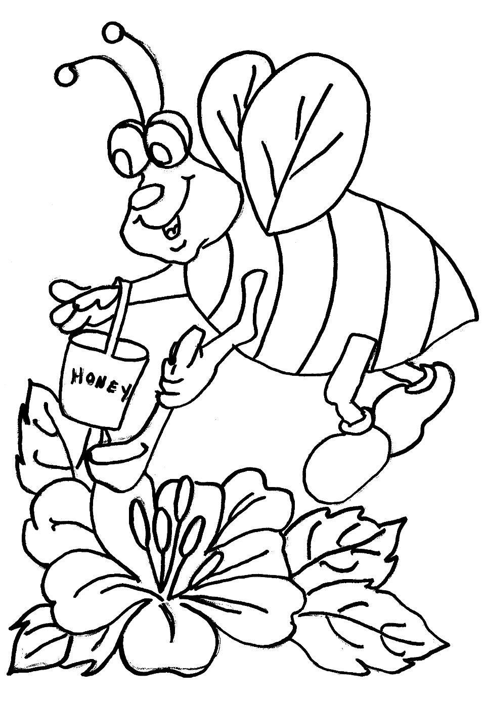 sumber Mewarnai Lebah