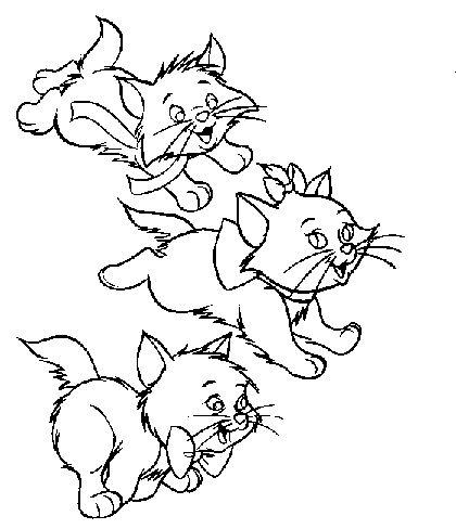 Mewarnai Gambar Kucing Maksumwidodo Blog Sumber Diwarnai
