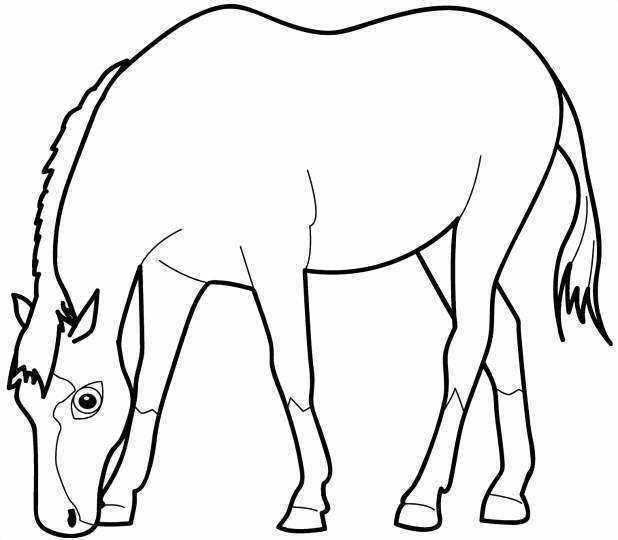 Disney Horse Cartoon Coloring Pictures