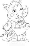baby-rhinoceros-coloring-page