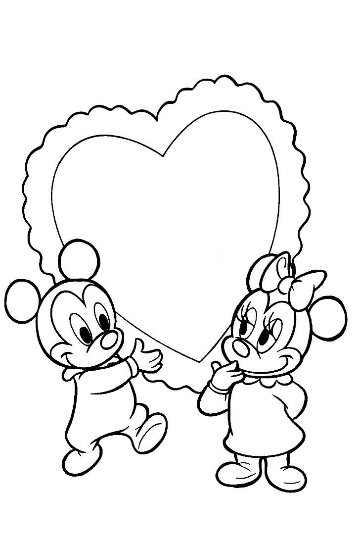 Mewarnai Mickey dan Minnie mickeymouse005